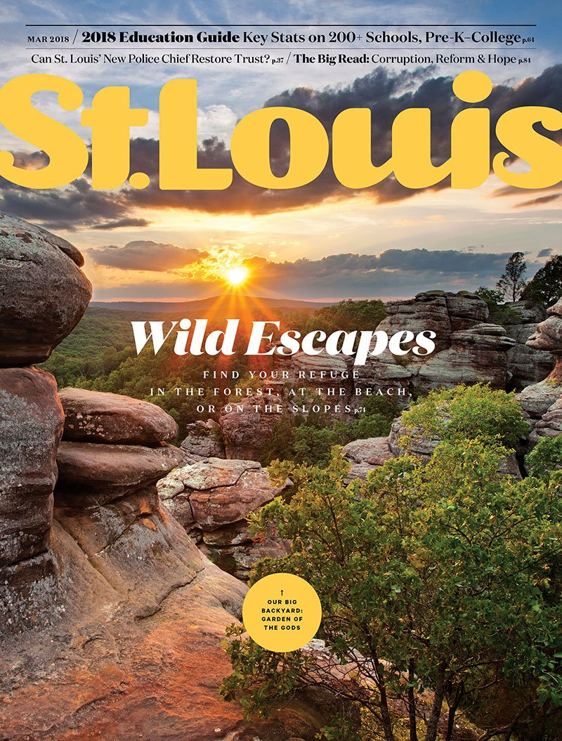 St. Louis Magazine cover