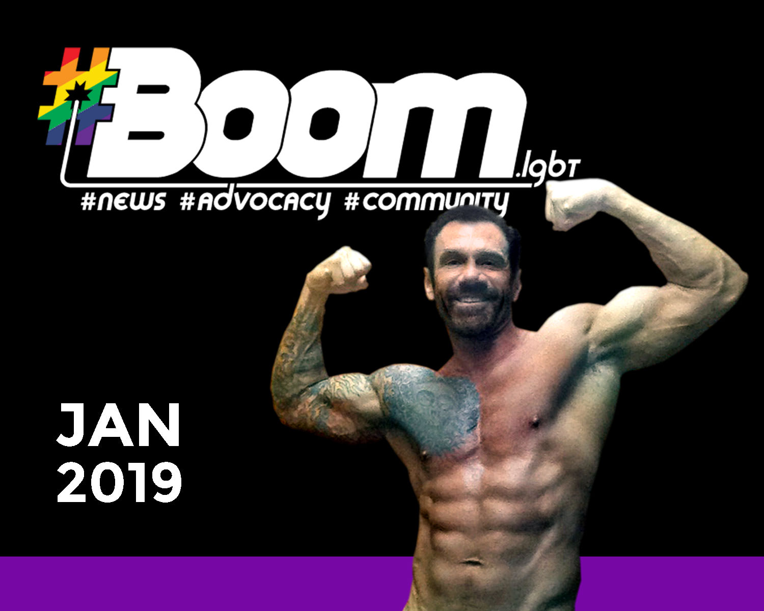 Boom Magazine fitness article January 2019