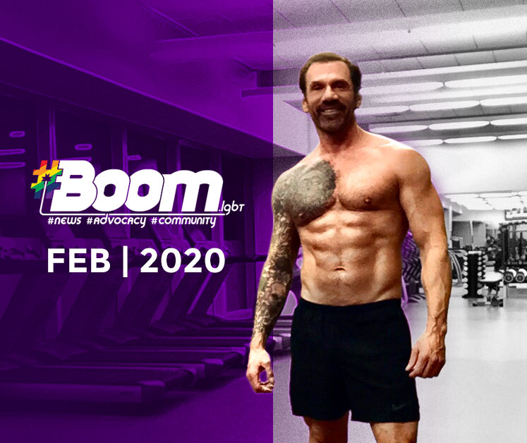 Boom magazine fitness article February 2020