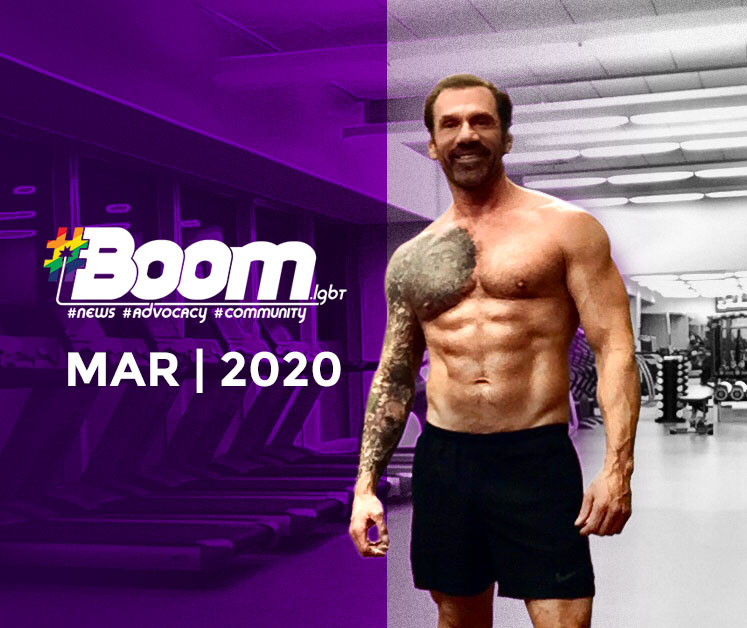 Boom magazine fitness article March 2020