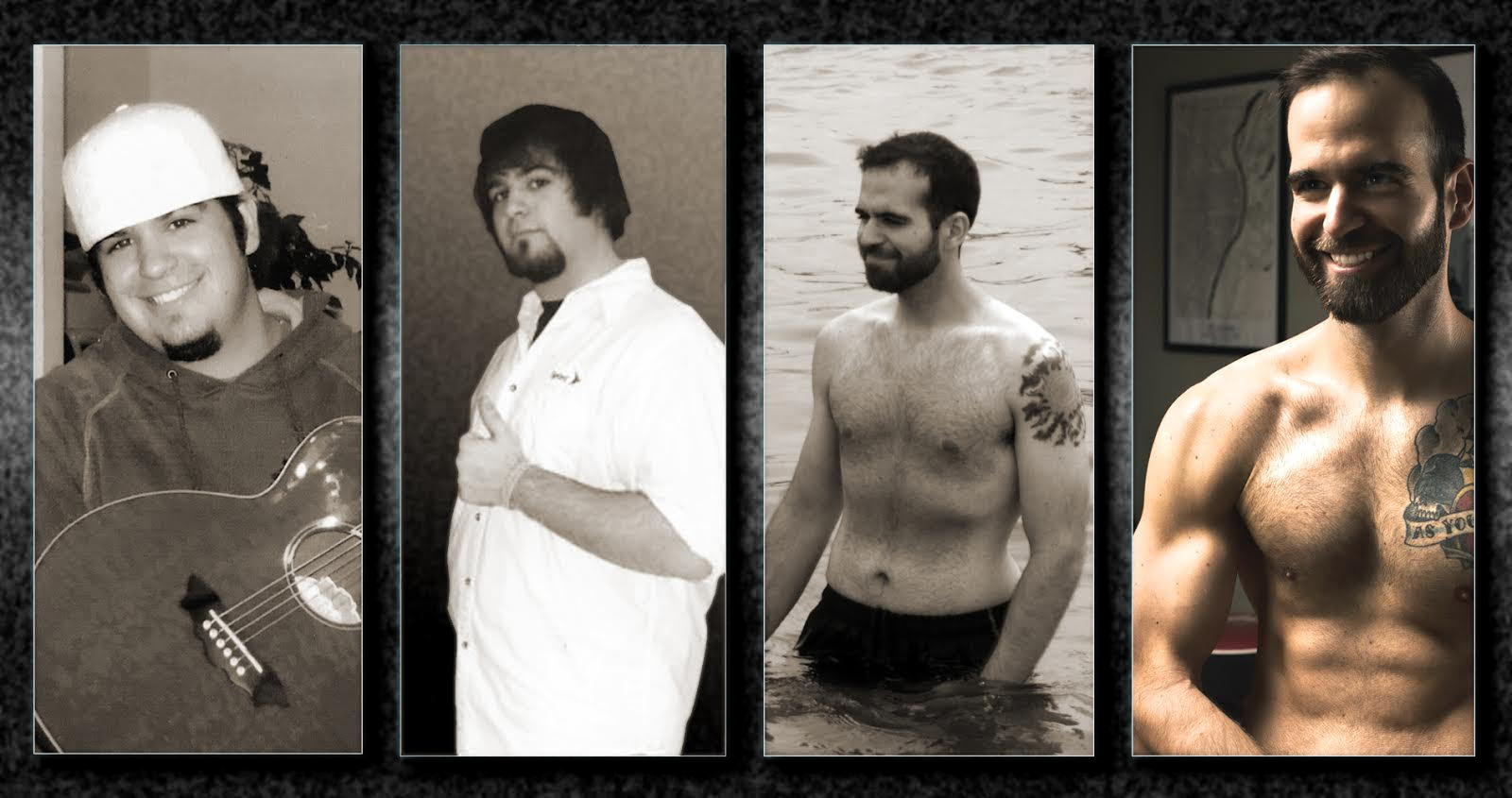 Spencer progress photos